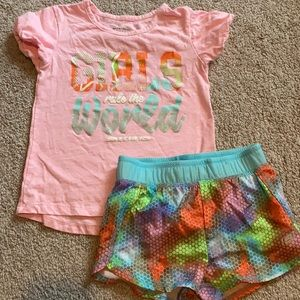 Sketchers short outfit